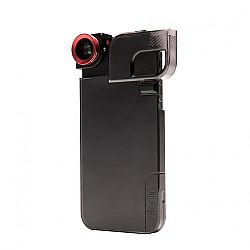 Olloclip Quick Flip Case & Lens System for iPhone 5 Red Black