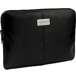 Krusell 71157 Luna Sleeve for iPad 4/NEW iPad/iPad 2, Motorola Xoom, Galaxy Tab 10.1 and Other Tablets 10 inch - Black/Cream