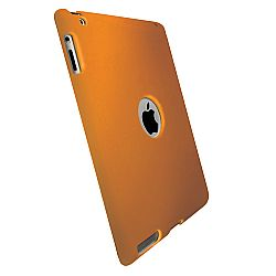 Krusell 71247 ColorCover Tablet Case for Apple iPad 2 / NEW iPad 3 / iPad 4 - Orange Metallic