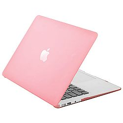 Krusell 71291 FrostCover Laptop Case for Apple MacBook Air 11.6 - Transparent Pink