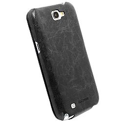Krusell 75544 Tumba SlimCover Flip Case in Premium Leather for Samsung Galaxy Note II - Vintage Black