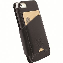 Krusell 76001 Kalmar FlipWallet for Apple iPhone 5, iPhone 5S, iPhone 5C - Black