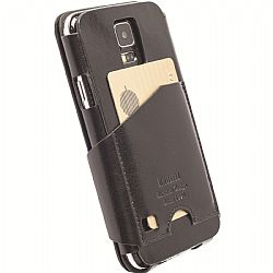Krusell 76004 Kalmar FlipWallet for Samsung Galaxy S5 - Black