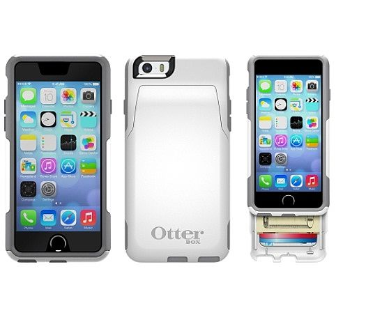 best cheap 847ed 86e10 OtterBox Commuter Wallet for Apple iPhone 6 in Glacier at ...