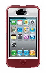 OtterBox Defender Anthem Collection for iPhone 4 /4S (Red/White)