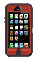 OtterBox Defender Series for Apple New iPhone 5 - Bolt Red