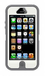 OtterBox Defender Series for Apple New iPhone 5 - Glacier Gray