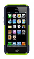 OtterBox iPhone 5 Commuter Series Case - Punked (Glow Green / Admiral Blue)