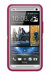 OtterBox HTC One Defender Series case - Blushed Pink
