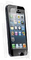 BodyGuardz UltraTough Optically Clear Full Body Protectors with Anti-Microbial for Apple NEW iPhone 5 - Gel/Dry Apply