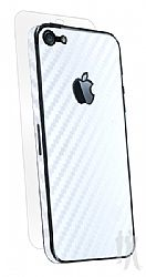 BodyGuardz Carbon Fiber Armor Full Body Protector for NEW iPhone 5 - White
