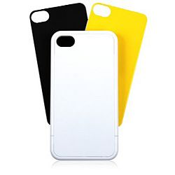 BodyGuardz mykase for iPhone 4 / 4S - Gloss White