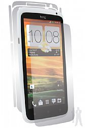 BodyGuardz UltraTough Optically Clear Skins Full Body Protection for HTC One X (AT&T) with Anti-Microbial - Gel/Dry Apply