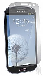 BodyGuardz UltraTough Optically Clear Screen Protector with Anti-Microbial for Samsung Galaxy S III / S3 - Gel/Dry Apply