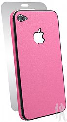 BodyGuardz Ultra-Thin Stylish Full Body Scratch Protection for Apple iPhone 4 / 4S - Pink Grapefruit