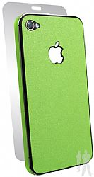 BodyGuardz Ultra-Thin Stylish Full Body Scratch Protection for Apple iPhone 4 / 4S - Lime Juice