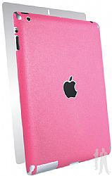 BodyGuardz Ultra-Thin Stylish Full Body Scratch Protection for Apple NEW iPad 3rd gen / iPad 2 - Pink Grapefruit