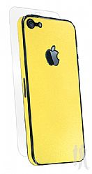 BodyGuardz Armor Rindz Ultra-Thin Stylish Full Body Scratch Protection for iPhone 5 - Lemon Zest
