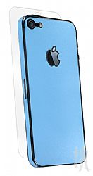 BodyGuardz Armor Rindz Ultra-Thin Stylish Full Body Scratch Protection for iPhone 5 - Blue Citrus