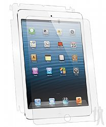 BodyGuardz UltraTough Optically Clear Full Body Protector with Anti-Microbial for Apple iPad Mini - Gel Apply