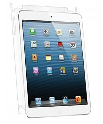 BodyGuardz UltraTough Optically Clear Full Body Protector with Anti-Microbial for Apple iPad Mini - Gel Apply - Back Only