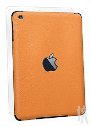 BodyGuardz Armor Rindz Full Body Stylish Protection Film for Apple iPad Mini - Tangerine Slice