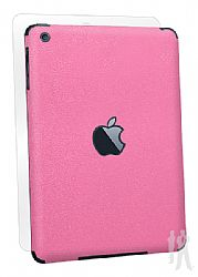 BodyGuardz Armor Rindz Full Body Stylish Protection Film for Apple iPad Mini - Pink Grapefruit