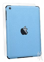 BodyGuardz Armor Rindz Full Body Stylish Protection Film for Apple iPad Mini - Blue Citrus