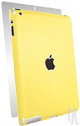 BodyGuardz Armor Rindz Full Body Stylish Protection Film for Apple iPad 4 with Retina Display - Lemon Zest