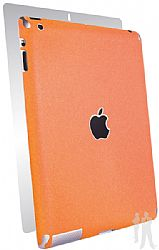 BodyGuardz Armor Rindz Full Body Stylish Protection Film for Apple iPad 4 with Retina Display - Tangerine Slice