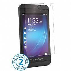 BodyGuardz UltraTough Clear Screen Protector with Anti-Microbial for BlackBerry Z10 (Gel/Dry Apply)