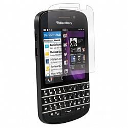 BodyGuardz UltraTough Clear Screen Protector with Anti-Microbial for BlackBerry Q10 (Gel/Dry Apply)
