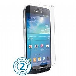 BodyGuardz UltraTough and Optically Clear Screen Protectors with Anti-Microbial for Samsung Galaxy S4 Mini (Gel/Dry Apply)