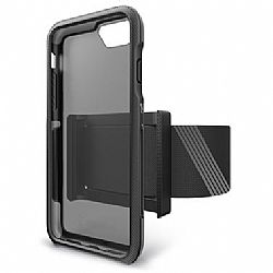 Bodyguardz Trainr Pro Case with Armband for Apple iPhone 6/6S/7/8 - Black/Gray