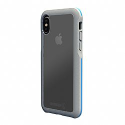 BodyGuardz Trainr Case for Apple iPhone X - Gray/Blue