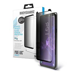 Bodyguardz Pure Arc Privacy Screen Protector for Samsung Galaxy S9