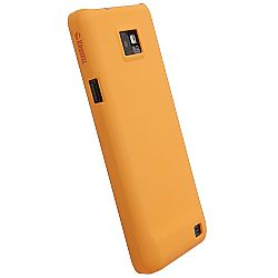 Krusell 89543 ColorCover for Samsung Galaxy S II (International Version) - Orange