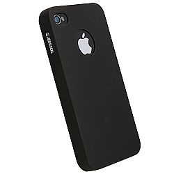 Krusell 89604 ColorCover for Apple iPhone 4/4S - Black