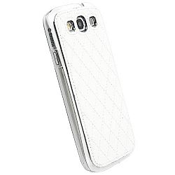 Krusell 89684 Avenyn Mobile UnderCover for Samsung Galaxy S III / S3 - White