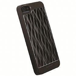 Krusell 89749 AluCover Case for iPhone 5/5s - Black Wave