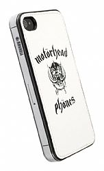 Motorheadphones 89797 Metropolis Undercover for Apple iPhone 4 / 4S - White/Black