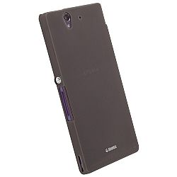 Krusell 89802 FrostCover Slim Case for Sony Xperia Z - Transparent Black