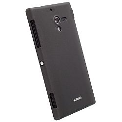 Krusell 89804 ColorCover Slim Case for Sony Xperia ZL - Black