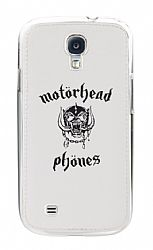 Motorheadphones 89846 Metropolis UnderCover for Samsung Galaxy S4 - White/Black