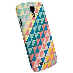 Krusell 89861 PrintCover Slim Case for Samsung Galaxy S4 - Green Triangle