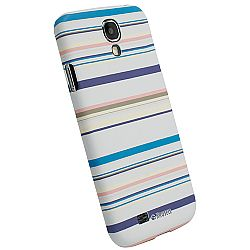 Krusell 89864 PrintCover Slim Case for Samsung Galaxy S4 - Blue Stripe