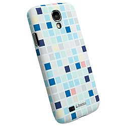 Krusell 89865 PrintCover Slim Case for Samsung Galaxy S4 - Blue Square