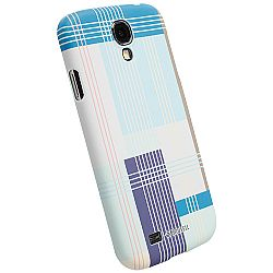 Krusell 89866 PrintCover Slim Case for Samsung Galaxy S4 - Blue Block