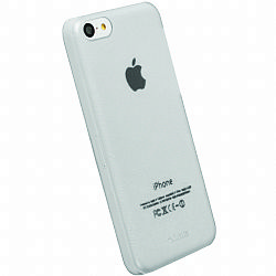 Krusell 89907 FrostCover Case for Apple iPhone 5C - Transparent White