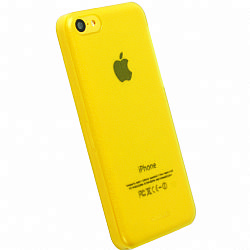 Krusell 89911 FrostCover Case for Apple iPhone 5C - Transparent Yellow